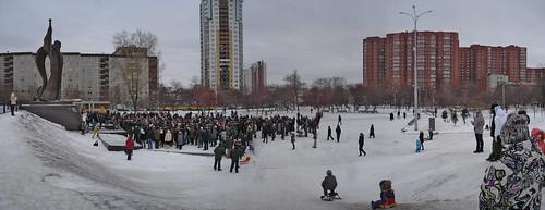 Митинг за честные выборы в Екатеринбурге 26.11 ©  ayampolsky