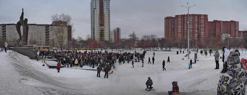фото: Митинг за честные выборы в Екатеринбурге 26.11