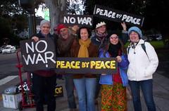 100_2433 (Haight Ashbury Neighborhood Peace Vigil) Tags: haight ashbury peace vigil iraq iran syria yemen korea aghanistan war moratorium golden gate park panhandle san francisco march 2018