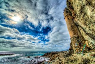 Epic High Resolution Laguna Beach Victoria Beach Castle Seascape Photography!  California Socal Photography! Fine Art Landscape & Nature Photography: Light Beams & Dr. Elliot McGucken Epic Fine Art!