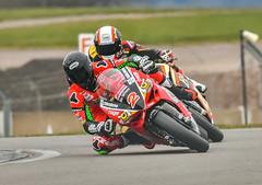 Cranking it over (ukmjk) Tags: bsb british super bike motorbike bikes test day donington race track nikon nikkor d500