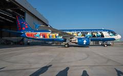 Brussels Airlines / A320 / OO-SND / EBBR (_Wouter Cooremans) Tags: ebbr bru brusselsairport zaventem spotting spotter avgeek aviation airplanespotting brussels airlines a320 oosnd brusselsairlines snsmurfs smurfs smurf aerosmurf