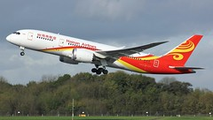B-2738 (AnDyMHoLdEn) Tags: hainan hainanairlines 787 dreamliner egcc airport manchester manchesterairport 23r