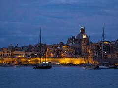 Malta - Valletta @ Night (bh-fotografie) Tags: 12100 valletta malta mft penf microfourthirds olympus