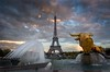 Eiffel Tower (Aziz Peps) Tags: eiffeltower paris parisian trocadero travel cloudy sunset france nikonflickraward nikon nikod750 tamron