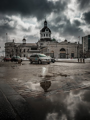 Market Square (Adam C Images) Tags: fuji xt2 mirrorless xtransiii iii sensor crop weather sealed fujinon 1655 f28 r lm wr nisi filters polarizer 6 stop 10 little stopper big lake ontario snow squall shore seascape ice frozen winter kingston canada