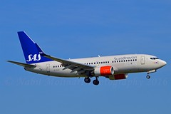 """Vagn Viking"" SAS Scandinavian Airline System SE-RJX Boeing 737-76N Winglets cn/34754-2172 @ Kaagbaan EHAM / AMS 06-06-2016 (Nabil Molinari Photography) Tags: vagnviking sas scandinavian airline system serjx boeing 73776n winglets cn347542172 kaagbaan eham ams 06062016"