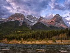 CanMor-ning (Philip Kuntz) Tags: sunrise daybreak dawn morning mtlawrencegrassi halingpeak quarrylake peaks mountains canmore alberta canada