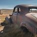 Rusty Car in the Sunlight