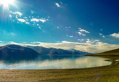 Ladakh - Pangong Lake (P S M) Tags: ladakh pangong lake panasonic lumix fz35 mountain brackish water