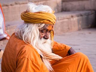 Old Sadhu in Varanasi