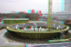 Depot Boijmans Rotterdam 3D (wim hoppenbrouwers) Tags: depot boijmans rotterdam 3d anaglyph stereo redcyan nai hni