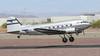 Historic Flight Douglas DC-3C N877MG (ChrisK48) Tags: skytrain phoenixaz historicflightfoundation aircraft convertedtodc3c linenumber4193 painefieldwa cn20806 historicflightatkilo7 airplane usaaf4316340 n877mg kdvt douglasc47b1dl dvt phoenixdeervalleyairport