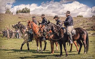 2018 Blue & Gray Civil War Reenactment, Moorpark 3.17.18 1b
