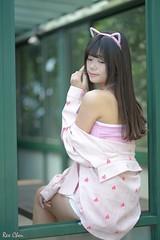蕭詞方 (玩家) Tags: 2018 台灣 台北 台大 人像 外拍 正妹 模特兒 蕭詞方 比比兒 戶外 定焦 無後製 無修圖 taiwan taipei portrait glamour model girl female bibi outdoor d610 85mm prime