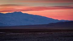 Heading Back (Kirk Lougheed) Tags: california cottonballbasin deathvalley deathvalleynationalpark panamintmountains usa unitedstates landscape nationalpark outdoor park sunset