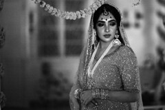 Brush Them Aside (N A Y E E M) Tags: tusin sisterinlaw wedding sangeet bride candid portrait evening availablelight finlayteaestate chittagong bangladesh