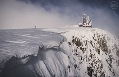 Śnieżne Kotły   Sněžné jámy (Szymon Wiatr) Tags: sněžné jámy śnieżne kotły zima sudety winter snijeg śnieg snow klif urwisko kocioł nawis śnieżny chmury chmura clouds cloudy mgła fog foggy day dzień szymonwiatr