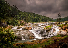 Pykara Falls (E&R's) Tags: india ooty pykara green falls long exposure nd10 neutral density daytime day forest jungle white magical mystical outside clouds river dslr nikon nikorr