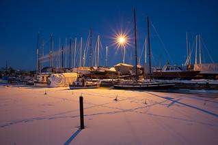 Harbour in Helsinki