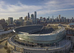 Soldier Field (player_pleasure) Tags: soldierfield chicago chicagoist windycity skyscraper skyline hdr drone architecture ariel