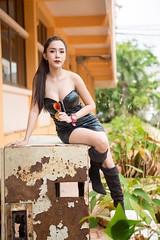 3 (BKK2017) Tags: sexy woman young thai thailand asian bangkok phuket shoes eyes face shoulder long hair black beautiful amazing hot