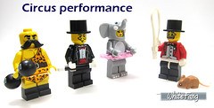 Circus performance (WhiteFang (Eurobricks)) Tags: lego collectable minifigures series city town space castle medieval ancient god myth minifig distribution ninja history cmfs sports hobby medical animal pet occupation costume pirates maiden batman licensed dance disco service food hospital child children knights battle farm hero paris sparta historic brick kingdom party birthday fantasy dragon fabuland circus