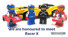 We are honoured to meet Racer X (WhiteFang (Eurobricks)) Tags: lego collectable minifigures series city town space castle medieval ancient god myth minifig distribution ninja history cmfs sports hobby medical animal pet occupation costume pirates maiden batman licensed dance disco service food hospital child children knights battle farm hero paris sparta historic brick kingdom party birthday fantasy dragon fabuland circus