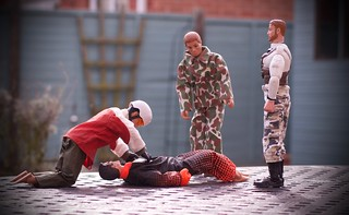 As Jamie desperately tried to save Neil's life, Andy was strangely quiet and detached