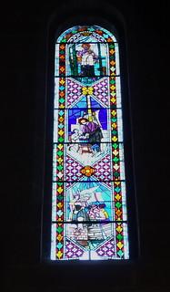 Basilica de San Francisco Javier vidriera Castillo de Javier Navarra 10