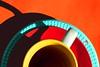 Il buco (meghimeg) Tags: 2018 genova imperfezione imperfect colori colors tazza cup piattini dishes macromondays imperfection buco hole loch macro