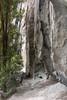 Mt Beerwah overhang (NettyA) Tags: 2017 australia glasshousemountains mtbeerwah qld queensland scbwc sunshinecoast bushwalk bushwalking geology overhang rock sandstone seqld bushwalker