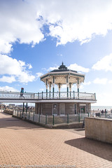 The Bandstand in context, Brighton (Zoë Power) Tags: blueskies sea bandstand beach brighton coast uk seaside