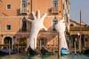 Venice is not sinking (hjuengst) Tags: venice venedig venezia italy italien italia art lorenzoquinn sculptur skulptur hands hände