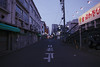 Back Alley (OzGFK) Tags: 35mm asia fuji400hpro japan nagoya nikkor nikon analog city film travel urban alley lane streetphotography evening winter empty honshu