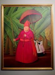 """""""Nuncio"""" (2004) [Verona - 18 February 2018] (Doc. Ing.) Tags: 2018 verona veneto vr nordest italy botero fernandobotero amo museum exhibition palazzoforti painting picture oiloncanvas nuncio portrait cardinal red"""