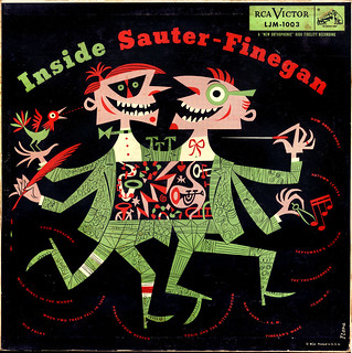 Inside Sauter-Finegan 1954 with cover by Jim Flora