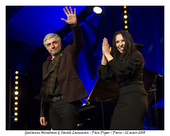 Giovanni Mirabassi, Sarah Lancman - Pan-Piper - Paris - 12 mars 2018 (Dust of Soul Pictures) Tags: giovannimirabassi sarahlancman pianiste chanteuse jazz