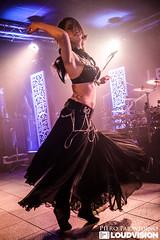 Myrath (sensitive2light) Tags: myrath live concert gig stage heavy progressive prog power oriental metal arab arabic tunisia milan milano italy italia pieroparavidino girl female bellydancer