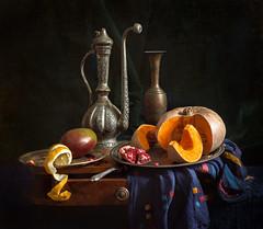 East Still Life with pumpkin (Evgeny Kornienko) Tags: stilllife pumpkin