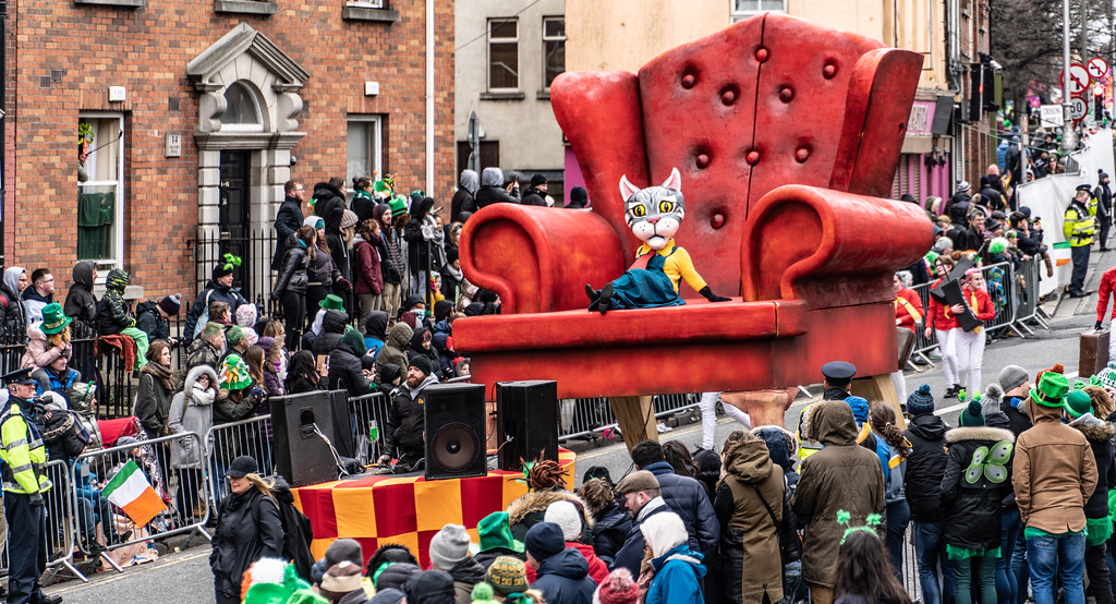 ARTASTIC - TICK TOCK OF THE FAMILY CLOCK [DUBLIN PARADE 17 MARCH 2018]-137701