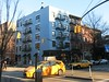 Tuesday Colours - The House on the Corner (Pushapoze (NMP)) Tags: newyorkcity greenwichvillage hudsonstreet buildings immeubles taxi