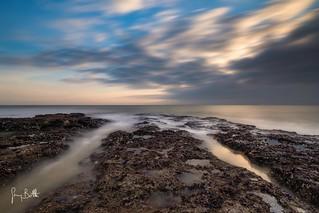 Low tide sunrise at Joss Bay