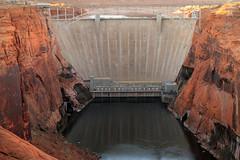 Glen Canyon Dam and Bridge (arbyreed) Tags: arbyreed dam glencanyondam water lake arizona page coconinocountyarizona
