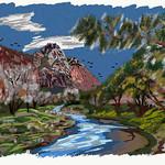 My Travels - Zion National Park Virgin River thumbnail