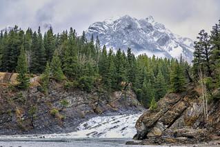 Bow Valley Falls, Banff