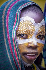 Suri Child (Rod Waddington) Tags: africa african afrique afrika äthiopien ethiopia ethiopian ethnic etiopia ethnicity ethiopie etiopian omovalley omo outdoor omoriver kibbish kibish suri tribe traditional tribal culture cultural child portrait people