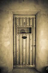 (Talisman39) Tags: cerillos 4ad door lonely monochrome nm newmexico vignette tone