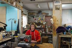 Ballan (Westographer) Tags: ballan victoria australia countrytown rural workplace portrait industrial workshop industrialsewingmachine oldschool sheepskinproducts theskininn