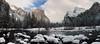 Gates of the Valley (Chief Bwana) Tags: ca california yosemite yosemitevalley yosemitenationalpark elcapitan mercedriver river snow winter bridalveilfall psa104 panorama chiefbwana 500views